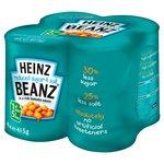Heinz Beanz Reduced Sugar & Salt Multipack
