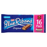 Blue Riband Milk Chocolate Biscuit Bars 16 Pack
