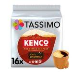 Tassimo Kenco 100% Colombian Coffee Pods 16s