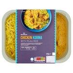 Morrisons Indian Chicken Korma & Pilau Rice