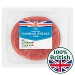Morrisons Unsmoked Gammon Steaks