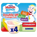 Munch Bunch Double Up Strawberry & Banana Fromage Frais