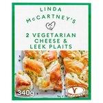 Linda McCartney Cheese Leek & Red Onion Plaits
