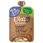 Ella's Kitchen 7 Mths+ Organic Beef Stew with Spuds