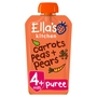 Ella's Kitchen Stage 1 Carrots, Peas & Pears
