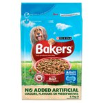 Bakers Complete Dry Dog Food Beef & Country Vegetables