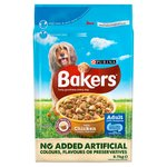 Bakers Adult Dog Food Chicken and Vegetable
