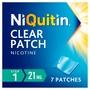 NiQuitin CQ Clear Patch Step 1 21mg