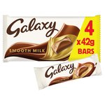 Galaxy Milk Chocolate Multipack
