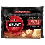 Seriously Strong Extra Mature White Cheddar