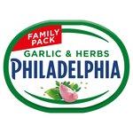 Philadelphia Light Garlic & Herb Soft Cheese
