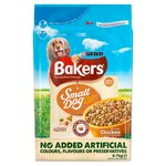 Bakers Small Dog Food Chicken and Vegetables