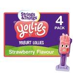 Yollies Strawberry Kids Yogurt