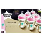 Tommee Tippie Closer To Nature Bottles Pink