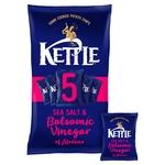 Kettle Chips Salt & Balsamic Vinegar