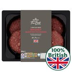 Morrisons The Best 4 Brisket Burger