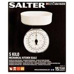 Salter 5Kg White Kitchen Scale