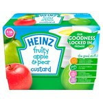 Heinz Fruity Apple & Pear Custard Pot