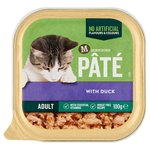 Morrisons Pate With Duck Cat Food