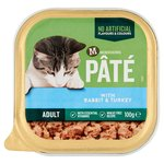 Morrisons Pate With Rabbit & Turkey Cat Food