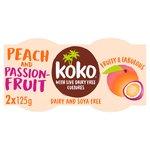 Koko Dairy Free Peach & Passionfruit Yogurt Alternative
