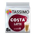 Tassimo Costa Latte Coffee Pods