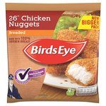 Birds Eye Breaded Wholegrain Crumb Chicken Nuggets 26 Pack