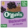 Organix Goodies Blackcurrant Oaty Bars 6s