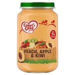 Cow & Gate Peach, Apple & Kiwi Jar