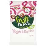Fruit Bowl Yogurt Raisins