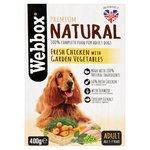 Webbox Natural Dog Chicken & Vegetables