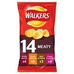Walkers Meaty Variety Crisps