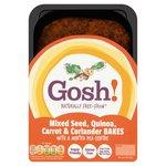 Gosh Mixed Seed Quinoa Carrot And  Coriander Bakes