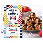 Rule Of Crumb Gluten Free Salted Caramel & Chocolate Profiteroles