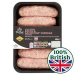 Morrisons The Best Bacon And Cheese Sausages 6 Pack