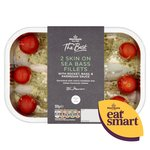 Morrisons The Best Sea Bass Fillets With Rocket 2 Pack