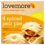 Lovemore Free From Spiced Pear Pies