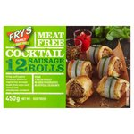 Fry's Meat Free 12 Cocktail Sausage Rolls
