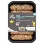 Morrisons The Best Pork & Mediterranean Vegetable Sausages