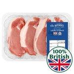 Morrisons British Pork Loin Steaks