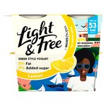 Light & Free Greek Style Yogurt Lavish Lemon