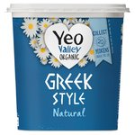 Yeo Valley Natural Greek Style Yogurts